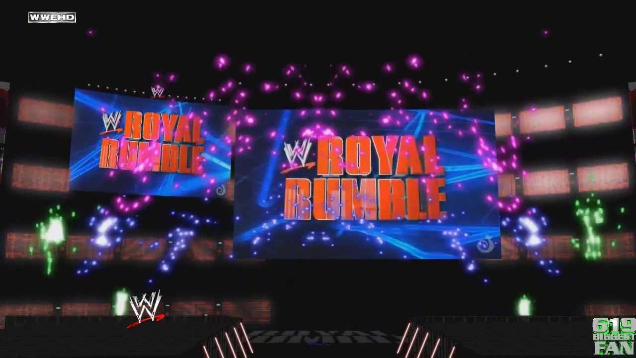 2014 wwe royal rumble opening pyro youtube