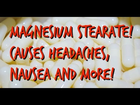 AVOID Magnesium Stearate And Other PRESERVATIVES!