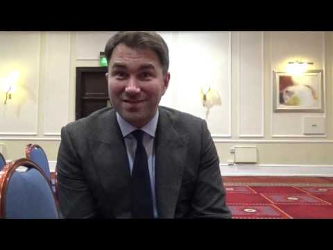 EDDIE HEARN DISMISSES BROOK-SPENCE RUMOUR, TALKS BURNS v INDONGO, PACQUIAO-KHAN & TYSON FURY RETURN