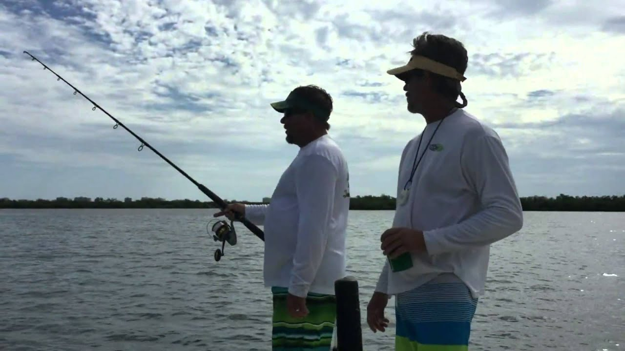 Yb normal fishing tv episode 2 monster snook in fort for Fort pierce fishing