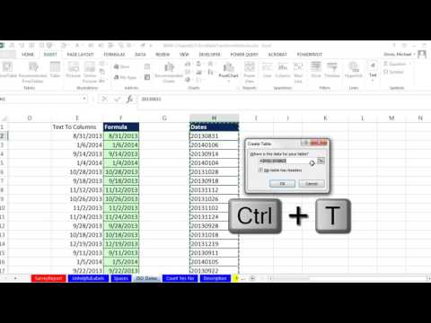 Basic Excel Business Analytics #27: Clean & Transform Data: Formulas, Flash Fill, Power Query, TTC