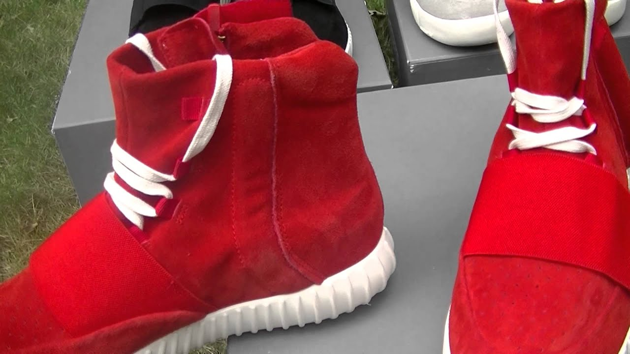 74c910ff352f1 Yeezy Boost 750 Red Review - YouTube