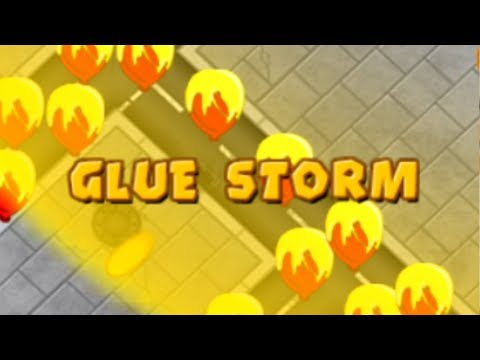 I Tried Using The Glue Storm And This Was The Result (Bloons TD Battles)