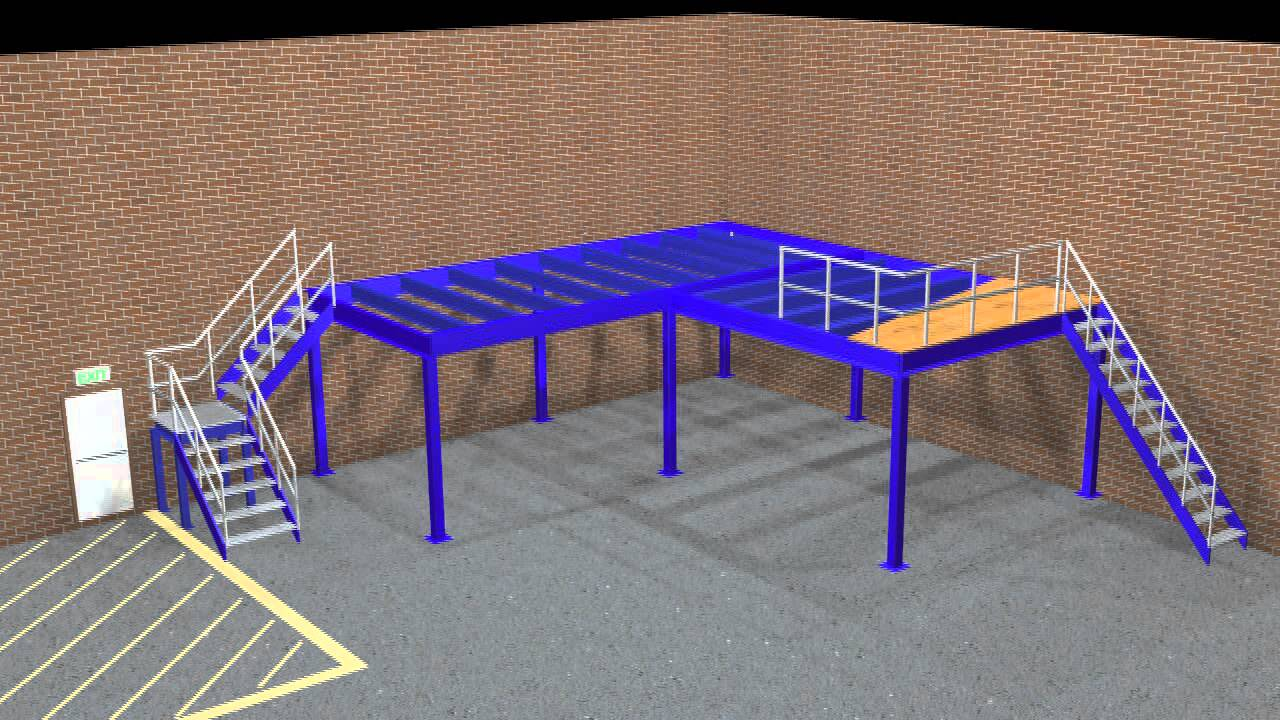 mezzanine floor build youtube
