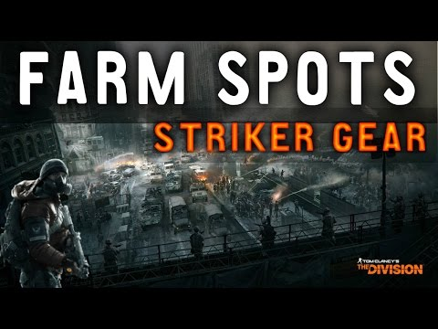 Striker Gear Set | Gear Farm Locations | Incursions | The Division