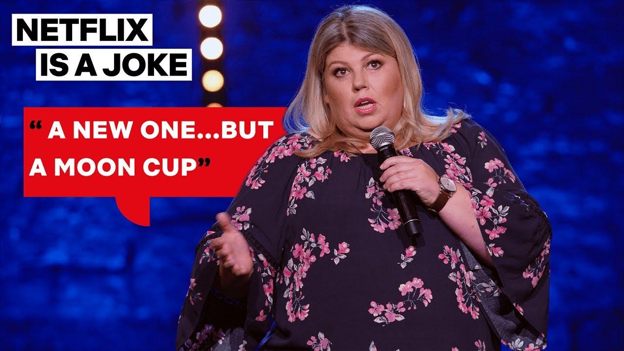Urzila Carlson Defines What a Moon Cup Is in Detail | Netflix Is A Joke