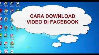 Gambar cover Cara Download Video dari Facebook Tanpa Software