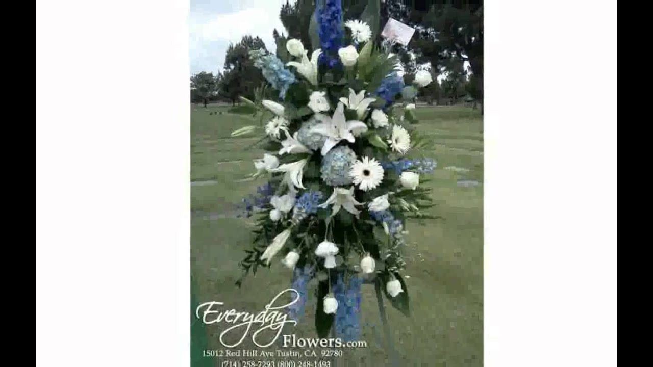 Flower arrangements for funerals youtube flower arrangements for funerals izmirmasajfo