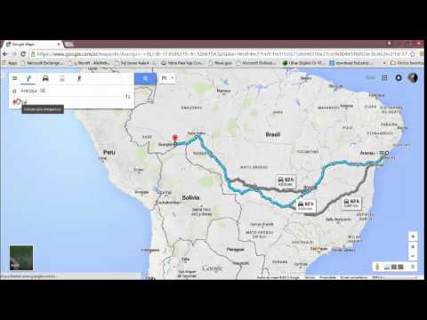 Usando Google Maps   Aula 1 Prof. Nildo Mello