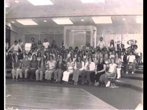 Las Plumas High School Band Spring Concert 1975 1976