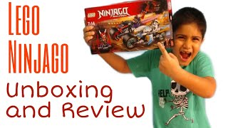 Lego Ninjago - Unboxing and Review #70639