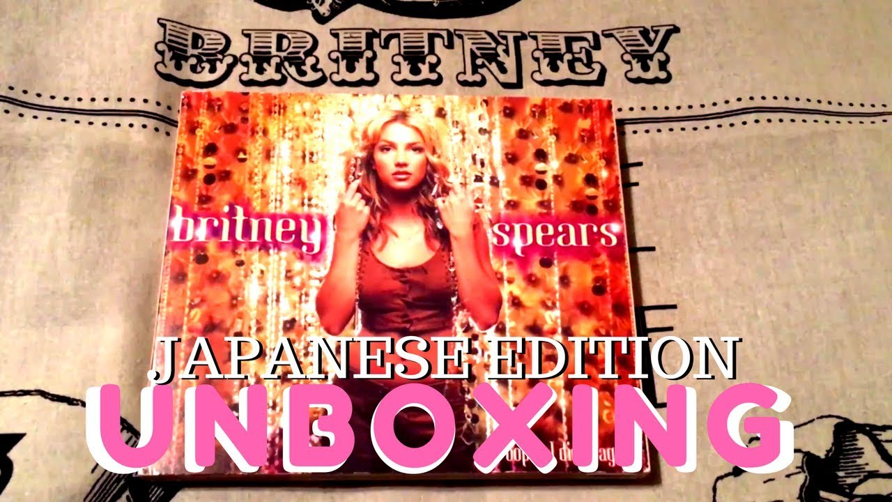 Oops I Did It Again Japanese Edition Britney Spears Cd Unboxing Youtube