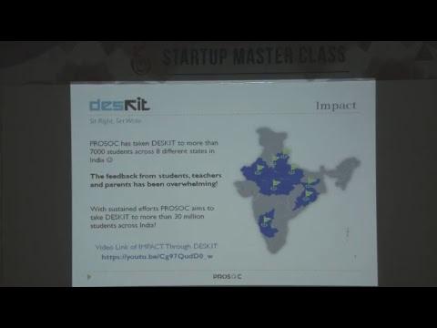 Startup Master Class (27012018) - IIT Kanpur