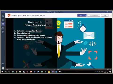 Microsoft Project Online, Microsoft Teams, Microsoft PowerApps and Microsoft Power BI Demo