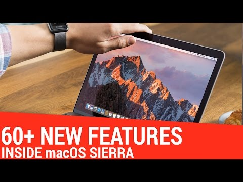 Over 60 New Features in macOS Sierra