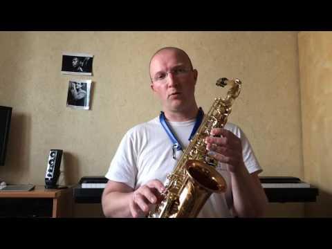 обучающее видео игры на саксофоне для начинающих