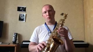 Аппликатура саксофона 1 (урок 7)