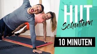 Schnelles 💨  Schultertraining für zu Hause – Spezial HIIT Workout für starke Schultern | *LIV*
