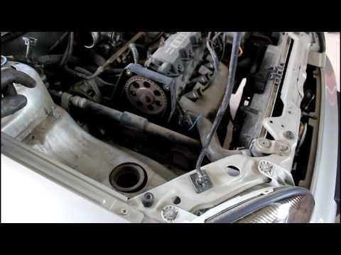 Замена термостата и ремня ГРМ 1часть  Chevrolet Lanos Шевроле Ланос 2008 года