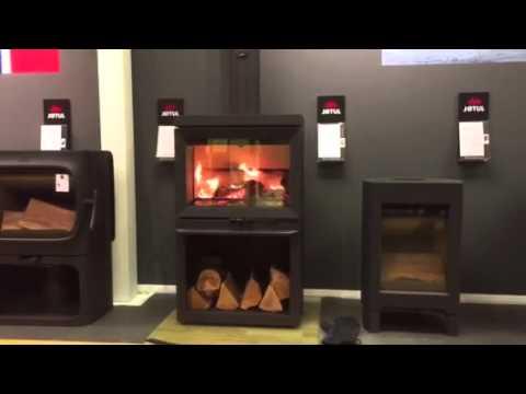 Nytt Jøtul F520 burning - YouTube CC-74