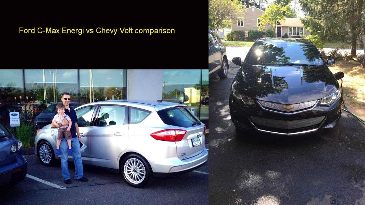 Long Term Ford C Max Energi To Gen 2 Chevy Volt Comparison