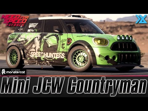 Need For Speed Payback Mini Jcw Countryman Speedcross Build All Nextech Parts Best Setup