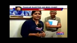 Times Now Speaks to BCCI's New Secretary 'Ajay Shirke'   Exclusive