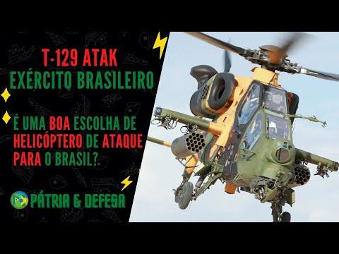 Helicóptero T-129 ATAK - Porque Ele é uma Boa Ideia Para o Exército Brasileiro.