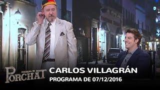 Programa do Porchat (completo) - Carlos Villagrán | 07/12/2016