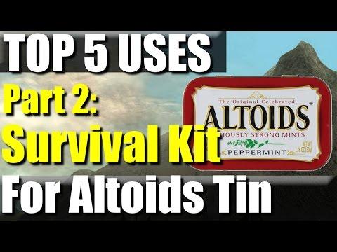 Top 5 Uses for an Altoids Tin Part 2: Survival Kit | RevHiker