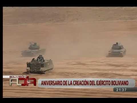 Ejército Boliviano demostró su poderío militar