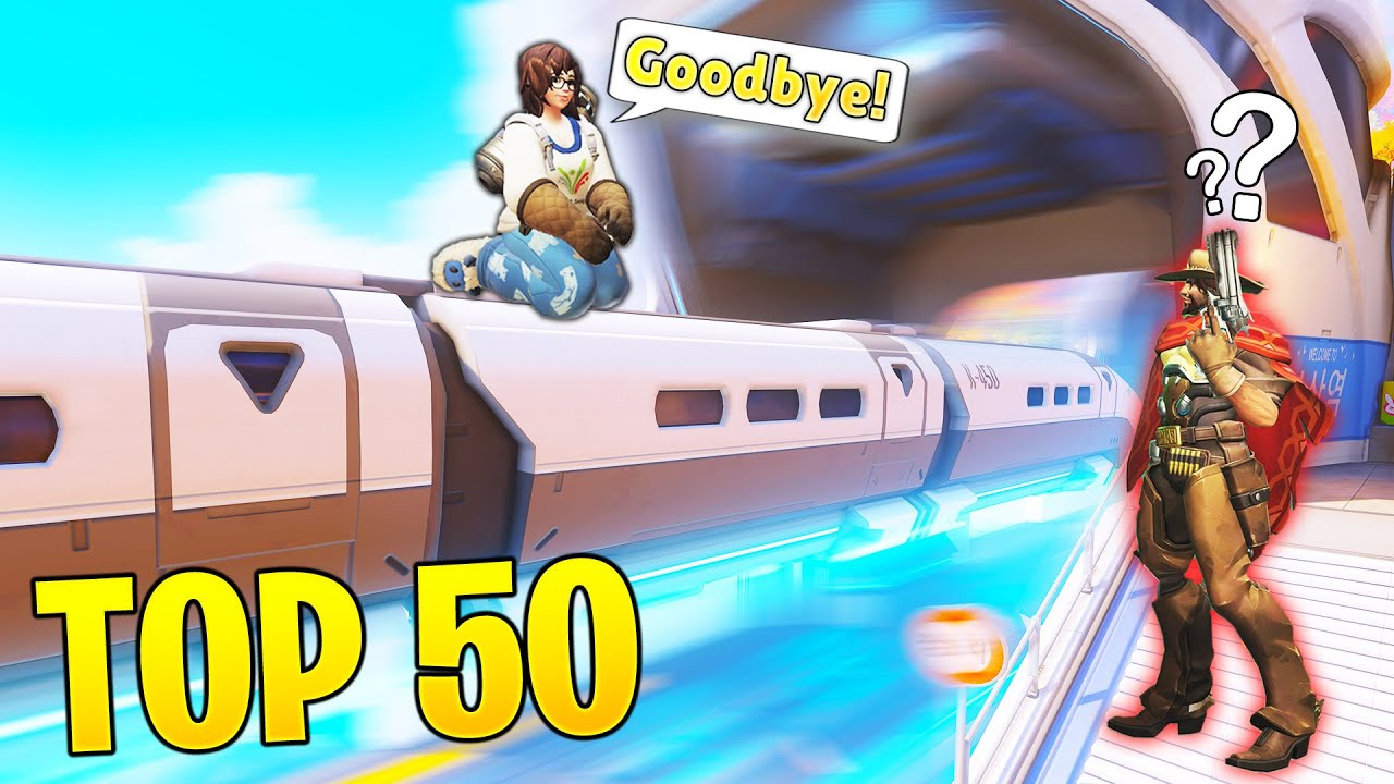 *NEW* Top 50 CRAZY Viral Overwatch Clips..! - OP Moments & Outplays - Overwatch Top Moments Montage