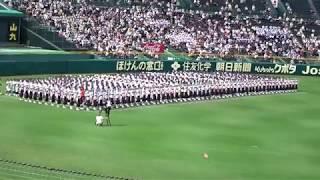 2019 夏 入場行進 開会式 甲子園 高校野球 2019.8.6