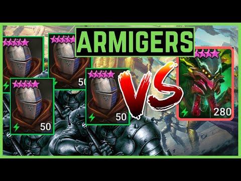 ARMIGERS TEAM SPIDER 20   4 UNCOMMONS TEAM   RAID SHADOW LEGENDS