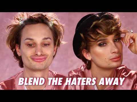 BLEND THE HATERS AWAY Tutorial / Make-up Transformation / Candy Crash