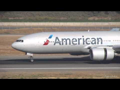 American Airlines Boeing 777-223/ER (N774AN) Landing at SCL coming from DFW