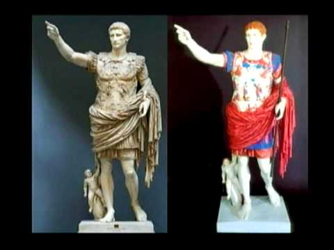 Greek Statues Were Painted