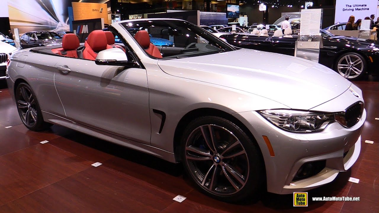 2016 bmw 435i convertible exterior and interior walkaround 2016 chicago auto show youtube. Black Bedroom Furniture Sets. Home Design Ideas