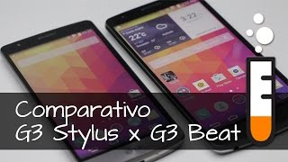 G3 Beat x G3 Stylus - Vídeo Comparativo Brasil