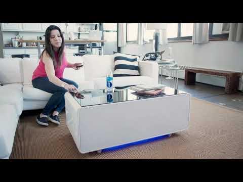 Sobro Smart Coffee Table With Refrigerator Reviews Barkeaterlake Com