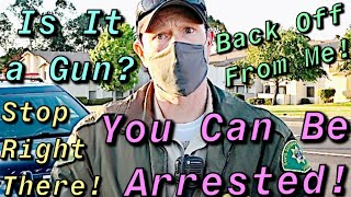 Stopped & Profiled For Exercising My Freedom To Record In Public #OWNED #DISMISSED #EDUCATED