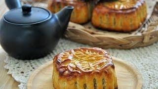 廣式五仁月餅。nuts moon cake