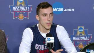 Gonzaga Players Sweet 16 Press Conference