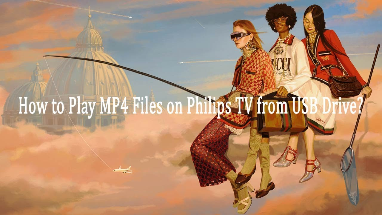 How to Play MP4 Files on Philips TV from USB Drive?