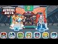 Transformers Rescue Bots: Disaster Dash Hero Run #279 | BLADES & OPTIMUS PRIME VS Morbot King!