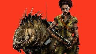 """Evolve: Maggie The Hunter Vs. The Monster on The New Map """"Distillery"""" - Gamescom 2014"""