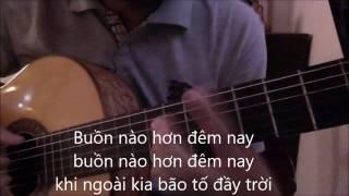 Xin thoi gian qua mau (Quang Le) [Guitar solo] [K'K]