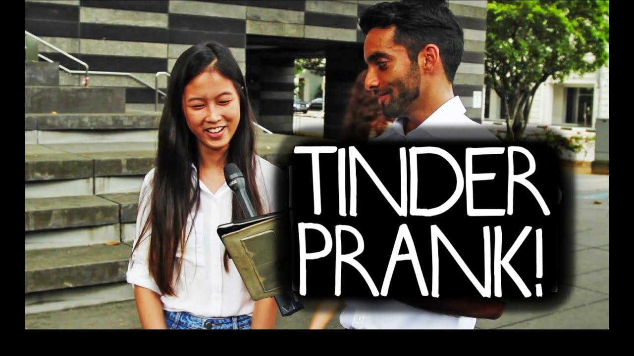 Tinder dating prank