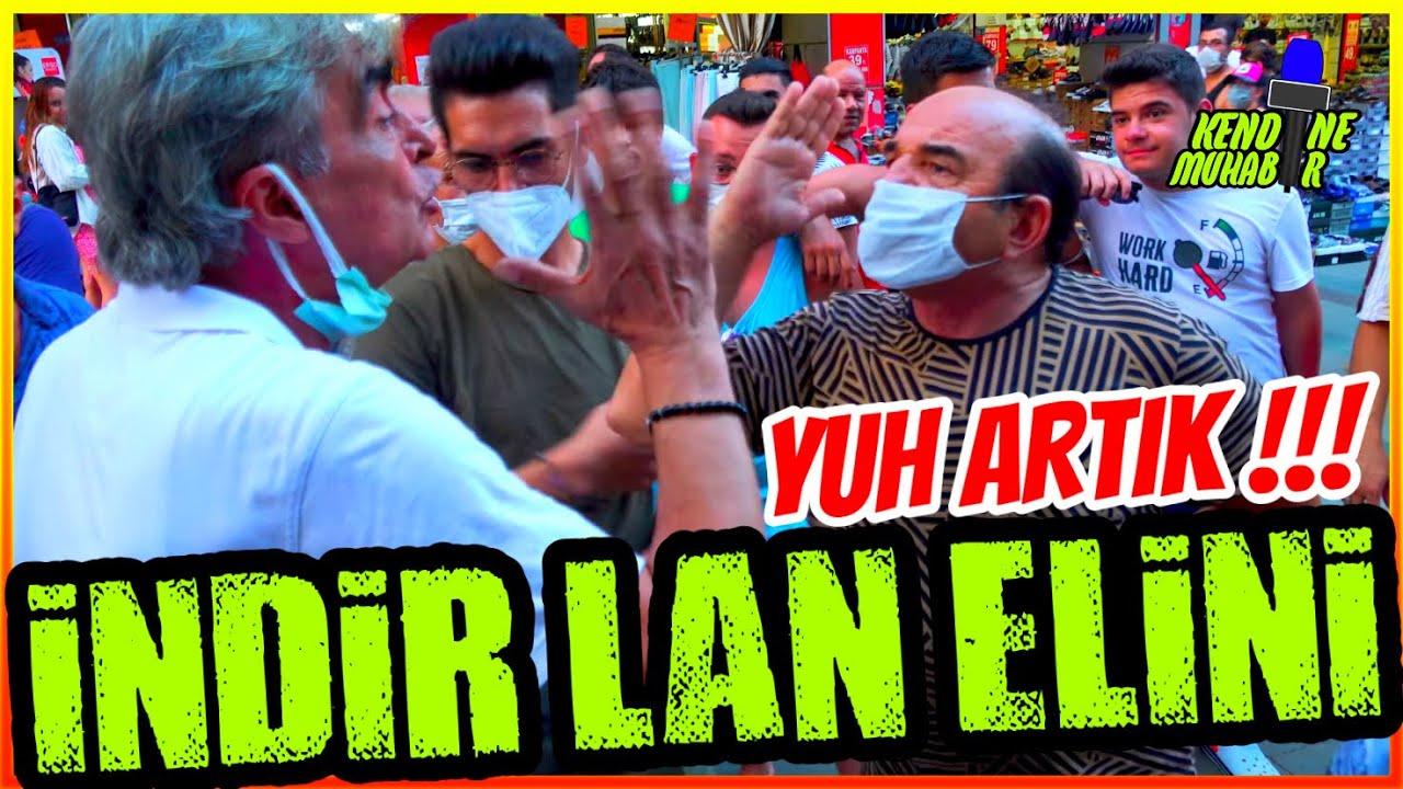 """""""İNDİR LAN ELİNİ""""   """"AKP'yi ELEŞTİREMEZSİNİZ"""" Diyen Vatandaştan Çirkin Provokasyon!"""