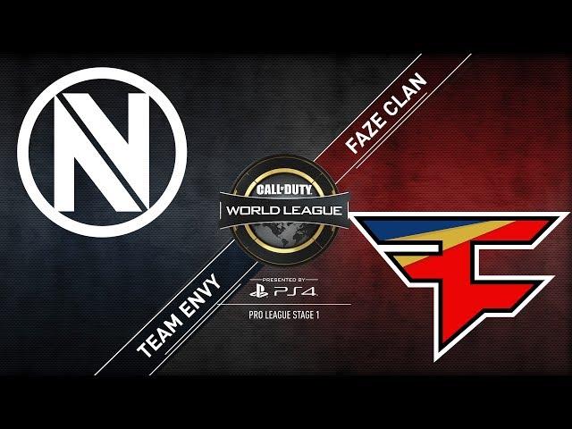 Team EnVyUs vs. FaZe Clan | CWL Pro League | Division B | Stage 1